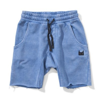 Munsterkids Shorts All Faden Washed Blue
