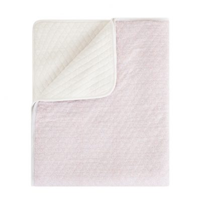 Lux printed blanket sand soft pink- Home by Door