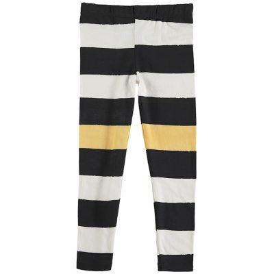 Nadadelazos Leggings Black Stripes