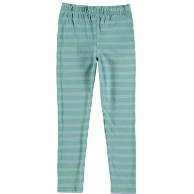 Nadadelazos Leggings Blue Green Stripes