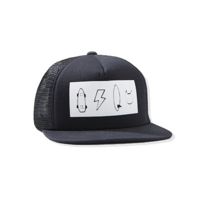 Munsterkids Cap Black/White