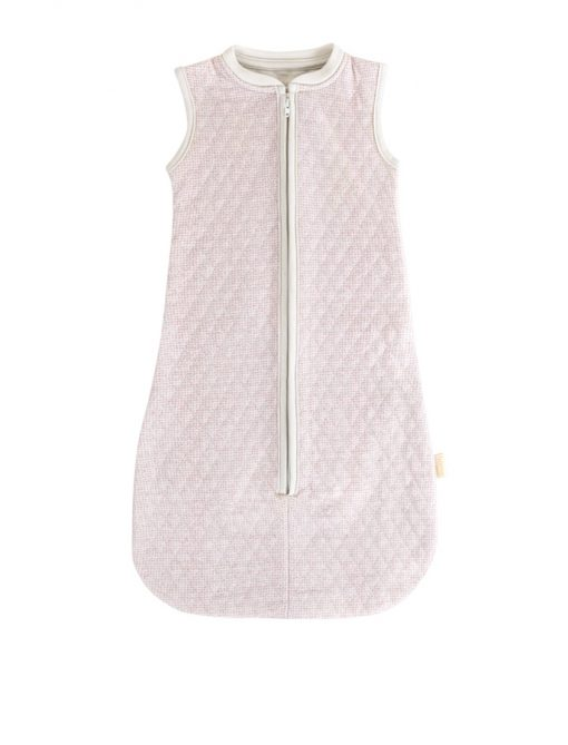 Lux printed sleeping bag sand soft pink- home by Door