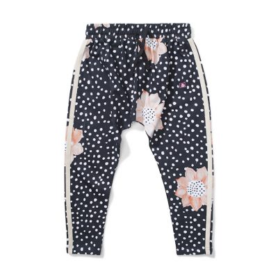 Munsterkids Pants Sprint black floral