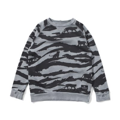 Munsterkids Sweatshirt Tiger Camo