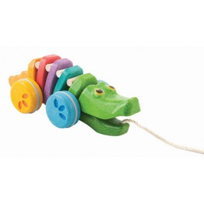 PlanToys Dancing Alligator Rainbow