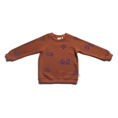 Swearhouse Sweater Houses Henna