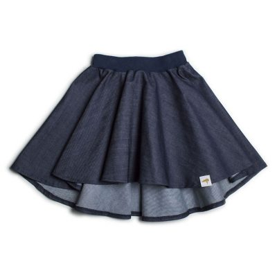 Swearhouse Denim Circle Skirt