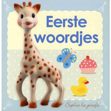 Sophie de Giraf kartonboekje Eerste woordjes