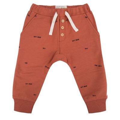 Little Indians Broek Oranjebruin