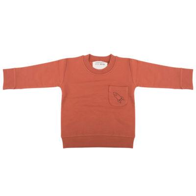 Little Indians Sweater Raket Oranje