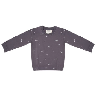 Little Indians Sweater Donkergrijs
