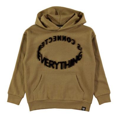 Molo Hoodie Sweater Khaki