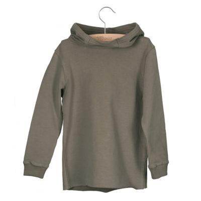 Little Hedonist Sweater Hoodie Bo Grijs