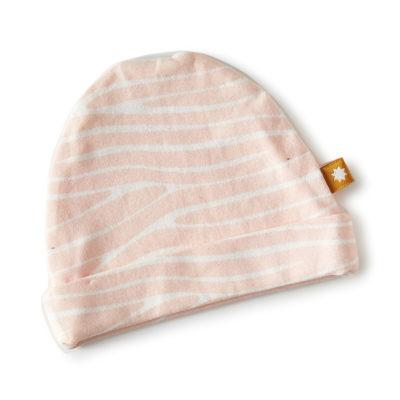 Little Label mutsje zebra roze