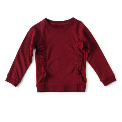 Little Label sweater bordeaux rood