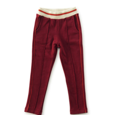 Little Label sweatpants bordeaux rood
