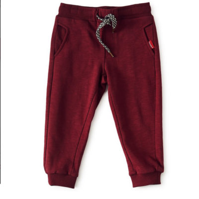 Little Label sweatpants donkerrood