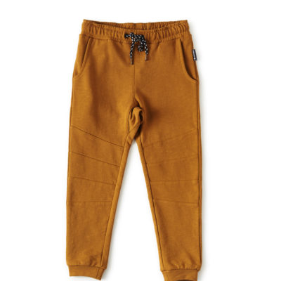 Little Label sweatpants okergeel