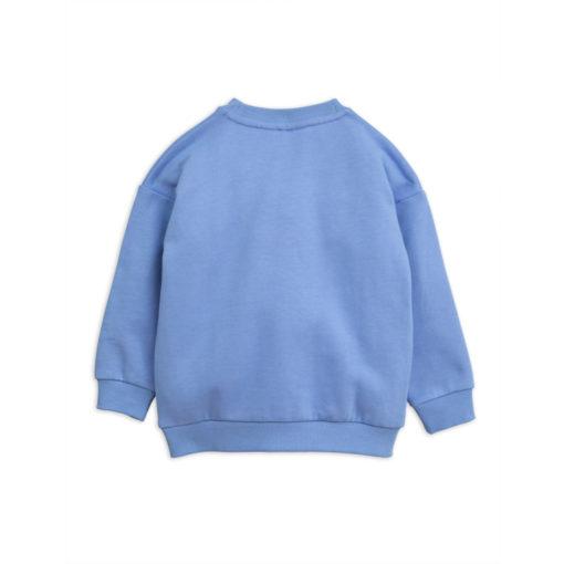 Mini Rodini Sweater Cheercat Blauw
