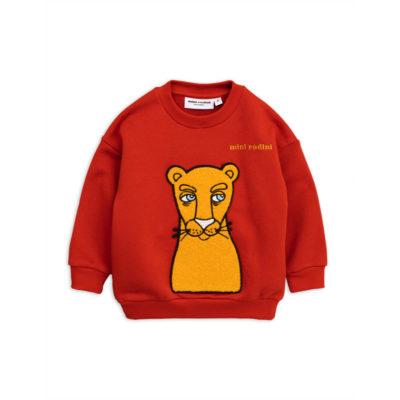 Mini Rodini Sweater Kat Rood