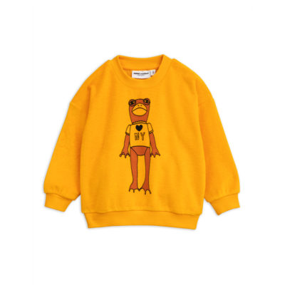 Mini Rodini Sweater Kikker Geel