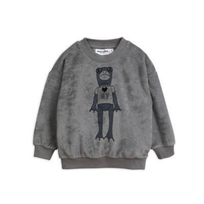 Mini Rodini Sweater Kikker Grijs