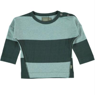 Kidscase Luke t-shirt Blauw Groen