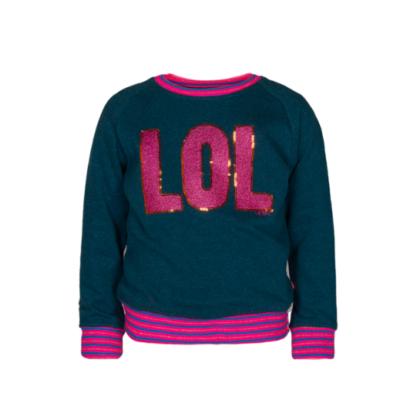 Le Big Sweater Groen LOL