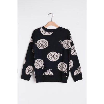 Nadadelazos Sweater Zwart Slakken