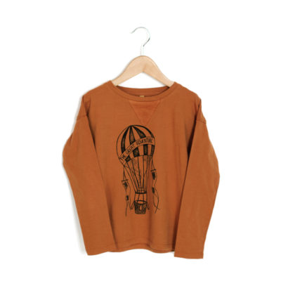 lotiekids T-shirt Ballonnen Oranje