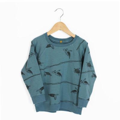 lotiekids Sweater Schildpadden Blauw