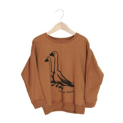 lotiekids Sweater Ganzen Oranje