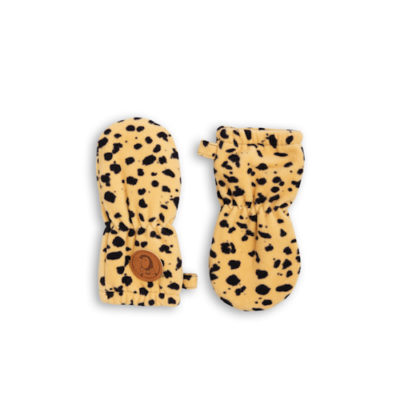 Mini Rodini Fleece Spot Baby Wantjes