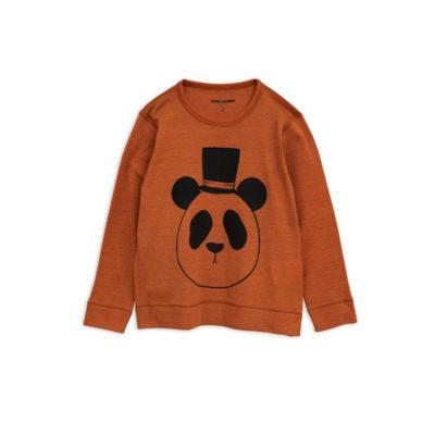 Mini Rodini Panda shirt bruin