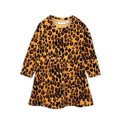 Mini Rodini Leopard Velour Dress