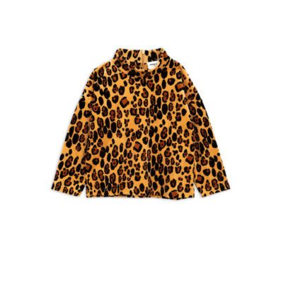 Mini Rodini Luipaard velours sweatshirt