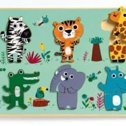 Djeco Relief Puzzel Croco