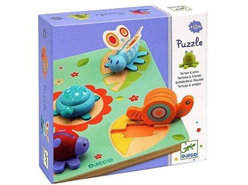 Djeco Puzzel Lilo Schildpad