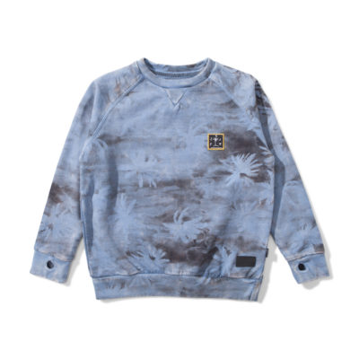 Munsterkids sweater camo palm