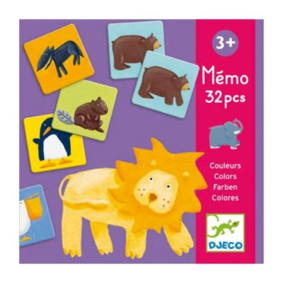 Djeco Memo colour animals