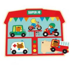 Djeco Puzzel met geluid Super Jo