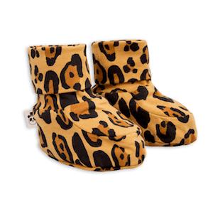 Mini Rodini Leopard Baby Boots
