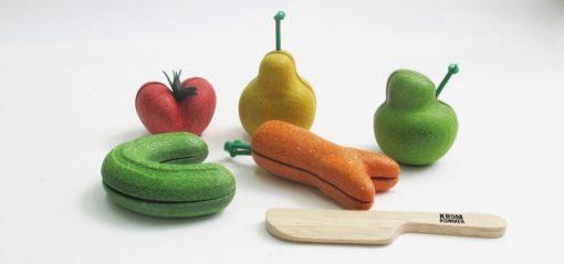PlanToys Kromkommer speelgroente en fruit