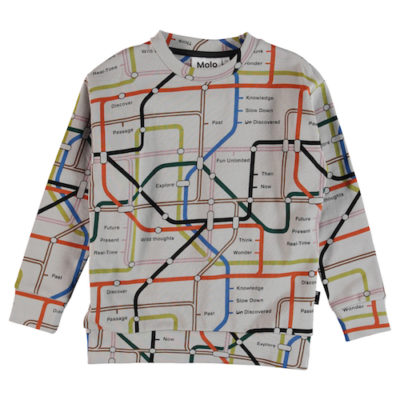 Molo Sweater Madsim Subway Map