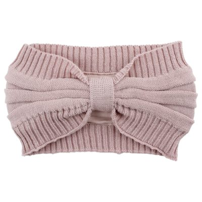 Nordic Label knit headband rose
