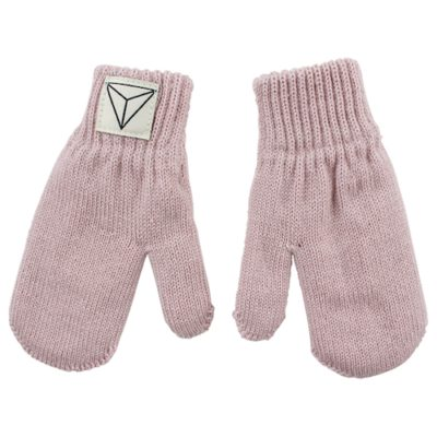Nordic Label knit mittens rose