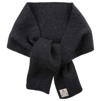 Nordic Label knit scarf dark grey