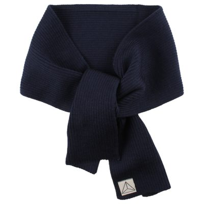 Nordic Label knit scarf navy