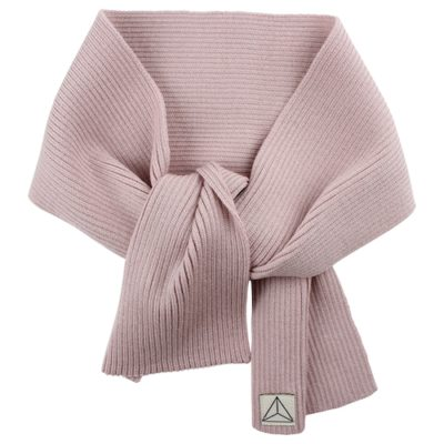Nordic Label knit scarf rose