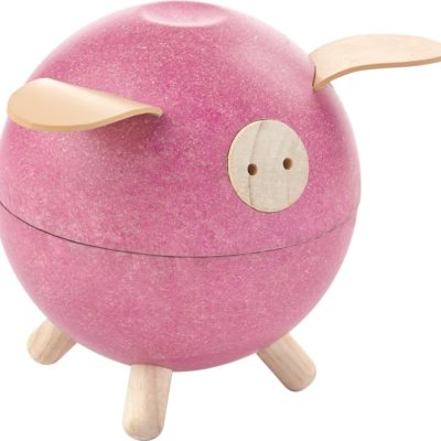 PlanToys Piggy Bank roze